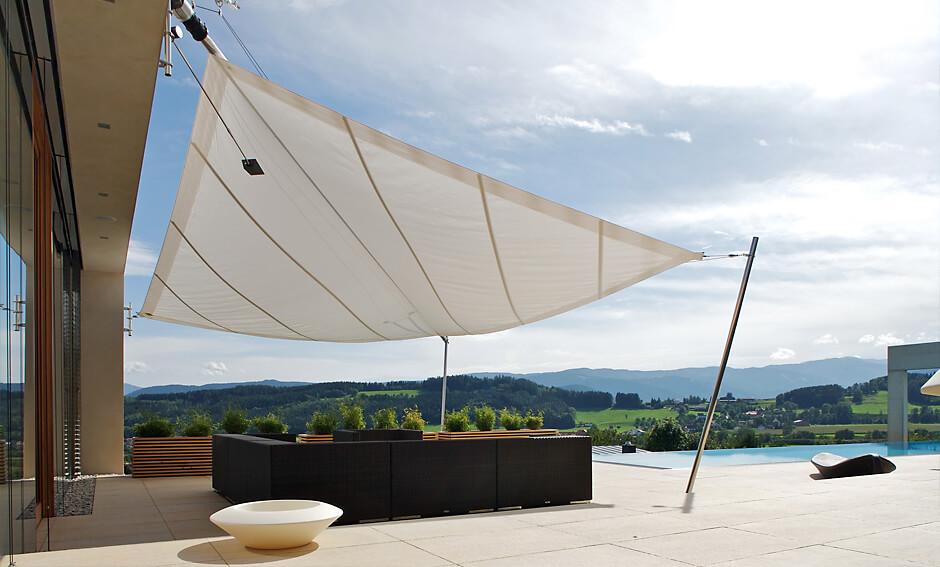 sonnensegel fnfeckig perfect sonnensegel und andere von greenbay online kaufen with sonnensegel. Black Bedroom Furniture Sets. Home Design Ideas
